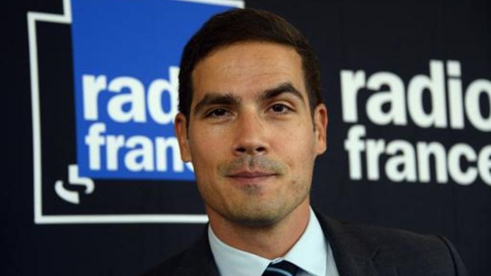 Le président de Radio France Mathieu Gallet le 7 octobre 2014 à Paris