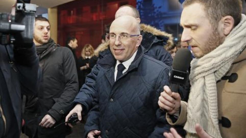 Eric Ciotti le 3 février 2015 à Paris