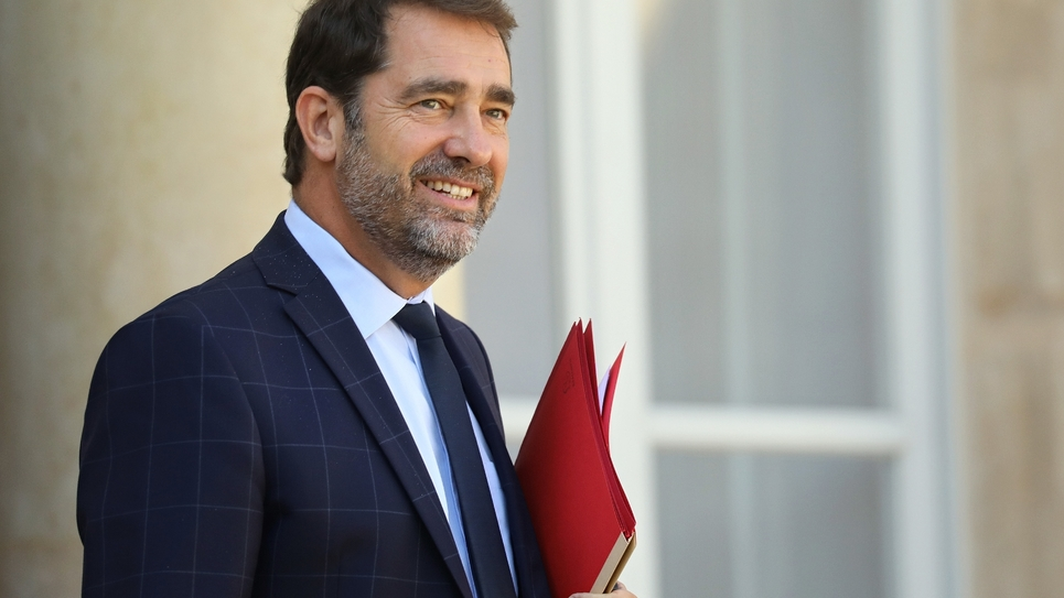 Christophe Castaner, photo du 12 septembre 2018
