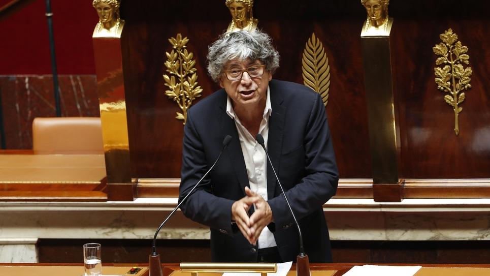 Le député de La France insoumise, Eric Coquerel, coordonateur du Parti de Gauche, à l'Assemblée nationale le 13 juin 2018