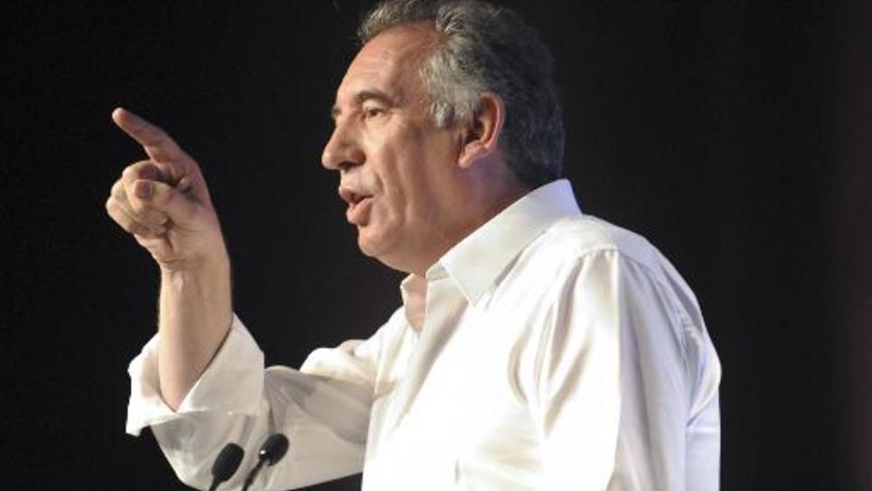 François Bayrou le 21 septembre 2104 à Guidel