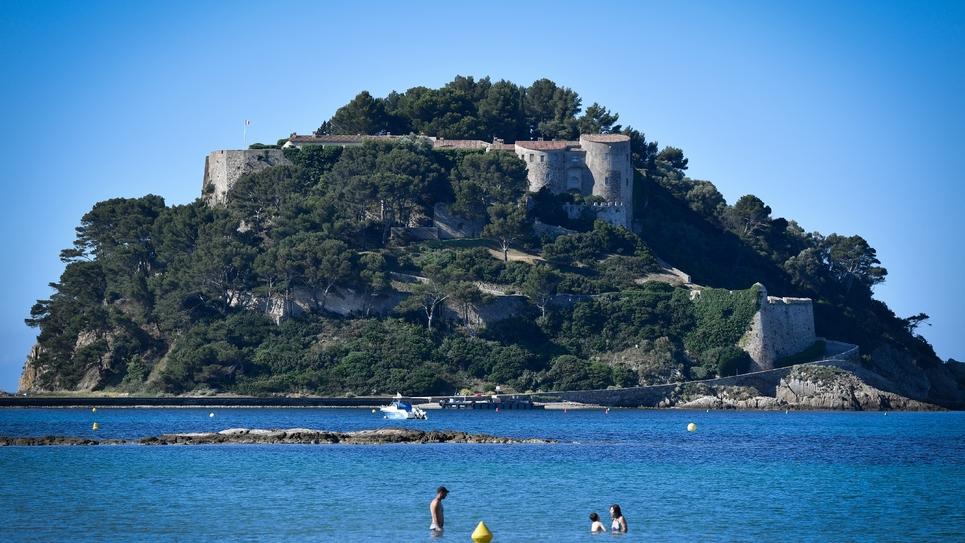 Le fort de Brégançon le 29 mai 2019