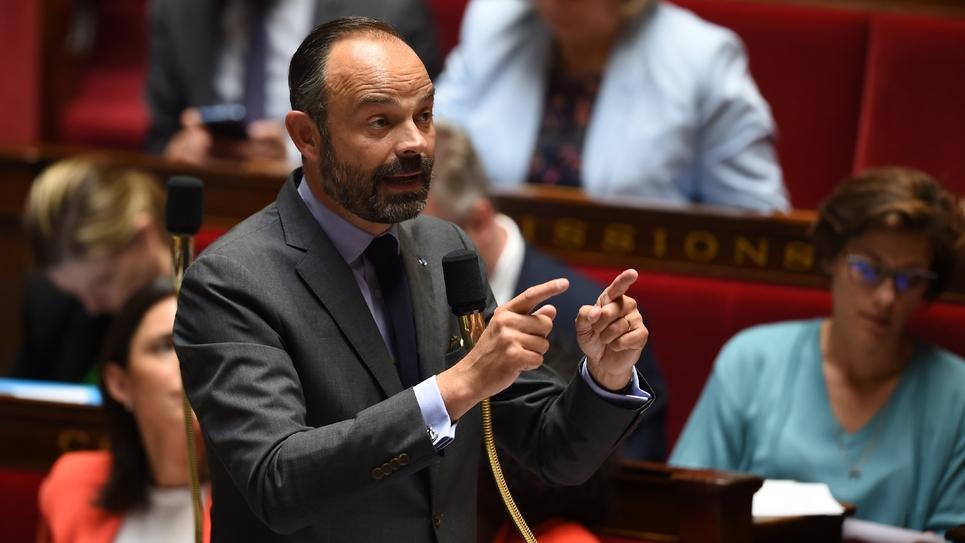 Edouard Philippe, à l'Assemblée nationale, le 4 juin 2019