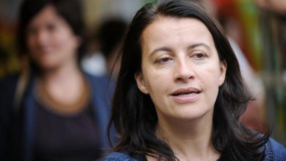 Cécile Duflot le 5 juillet 2014 à Notre-Dame-des-Landes
