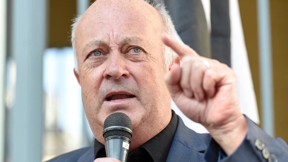 Le maire de Langouët, Daniel Cuef, le 22 avril 2019 à Rennes