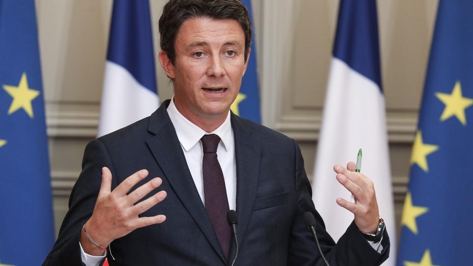 Benjamin Griveaux à l'Elysée le 5 septembre 2018