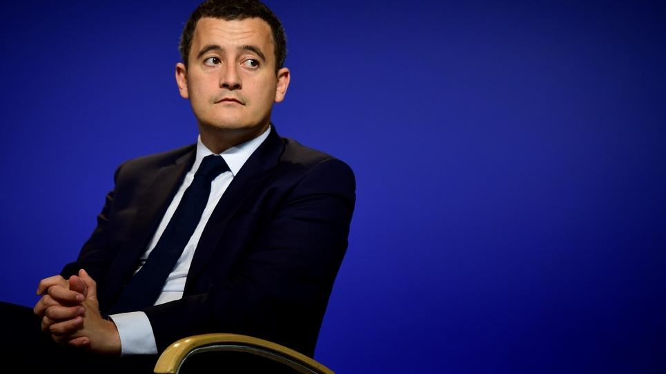 Le ministre des Comptes publics, Gérald Darmanin, à Paris le 6 juillet 2017