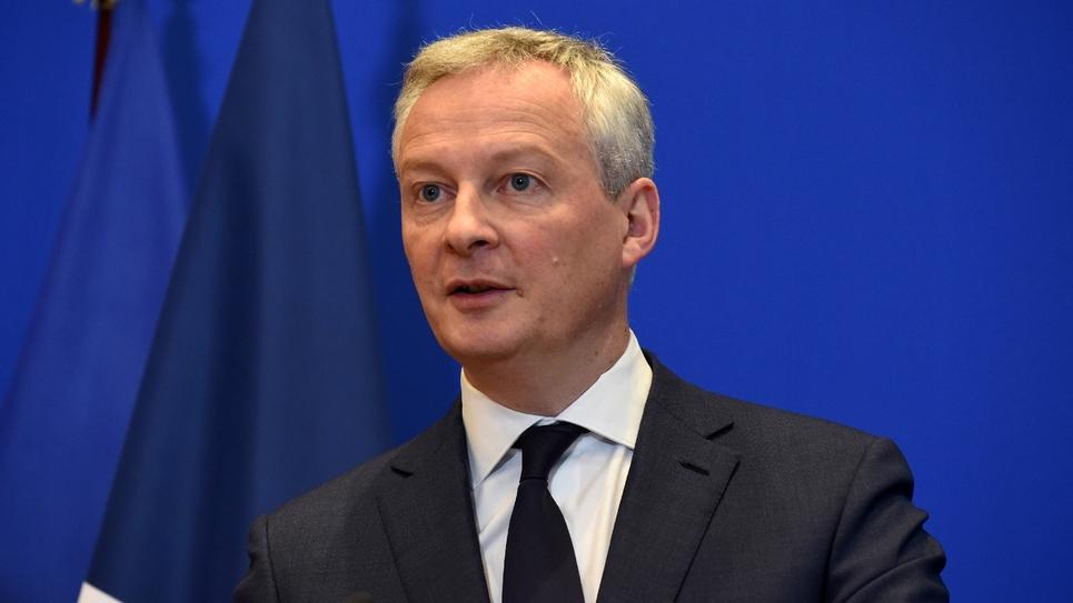 Bruno Le Maire le 9 mars 2020 à Paris