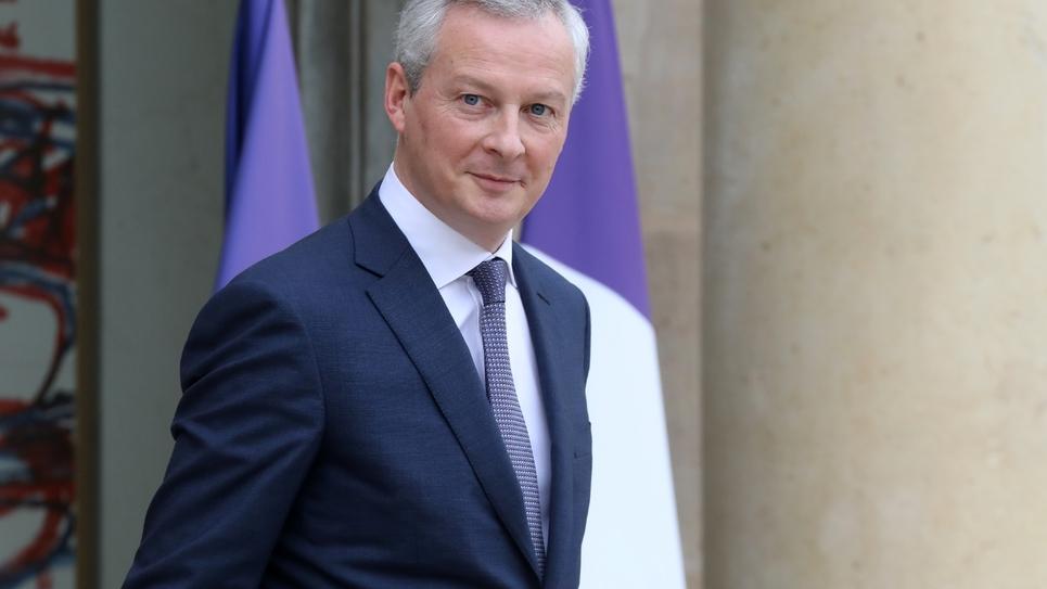Le ministre de l'Economie Bruno Le Maire le 5 décembre 2018 à Paris