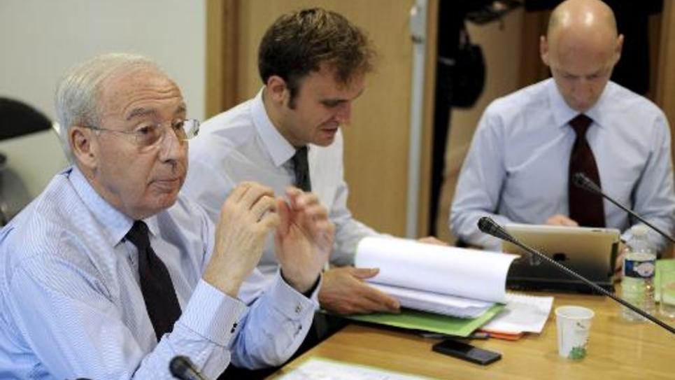 Le vice-président du Medef Jean-Francois Pilliard le 9 septembre 2014 au siège du Medef à Paris
