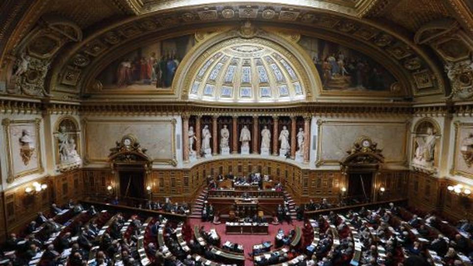 Vue générale en date 28 octobre 2014 du Sénat à Paris