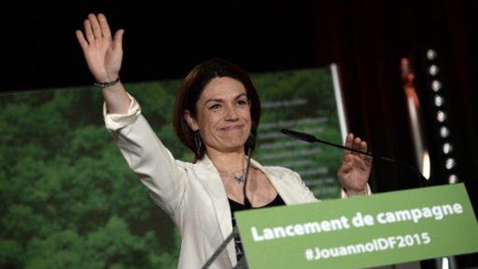Chantal Jouanno, le 7 avril 2015 à  Issy-les-Moulineaux