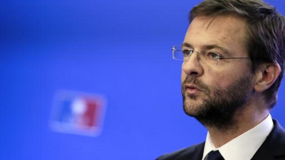 Le député européen Jérôme Lavrilleux, le 22 novembre 2012 au siège de l'UMP à Paris