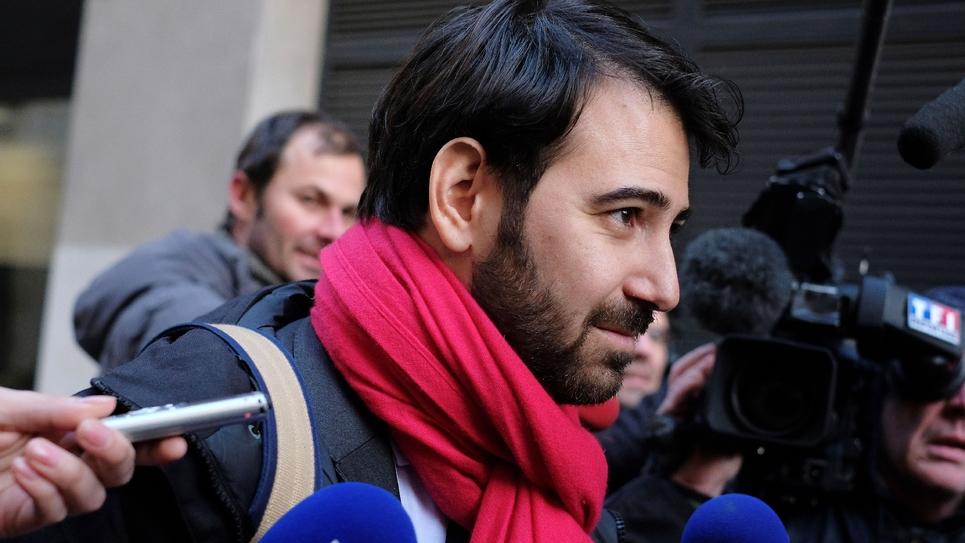 L'avocat de François Fillon, Antonin Levy, arrive au pôle fiancier de Paris, le 26 janvier 2017