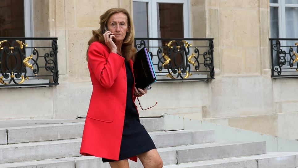 La garde des Sceaux Nicole Belloubet, le 6 septembre 2017 à Paris