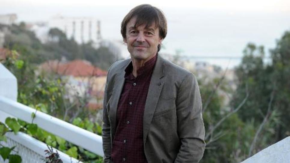 Nicolas Hulot le 20 février 2014 à Alger