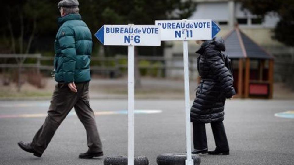 Journée électorale à La Baule-Escoublac, le 22 mars 2015