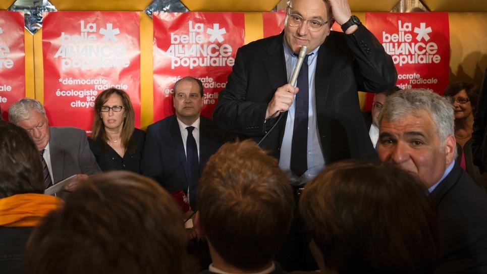 Julien Dray, le 13 avril 2016, à Paris.