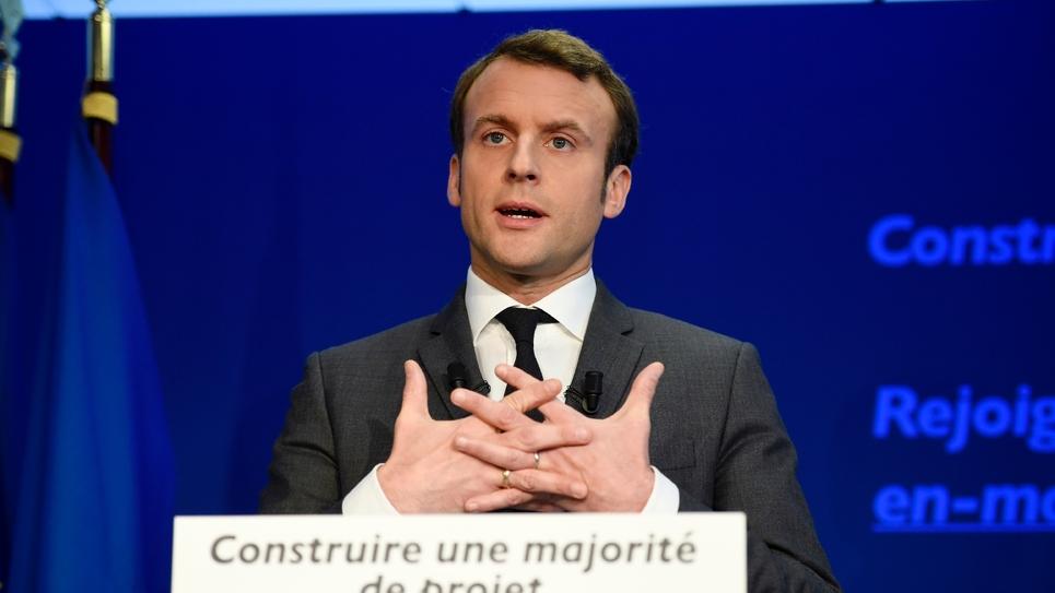 Emmanuel Macron le 19 janvier 2017 à Paris