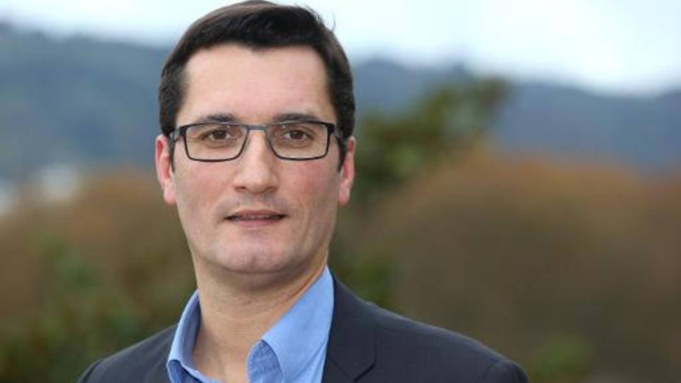 Olivier Dartigolles le 13 novembre 2014 à Pau