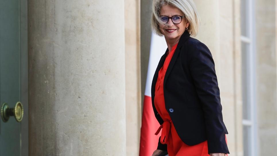 La rapporteure du texte Brigitte Bourguignon, le 29 mars 2019 à Paris