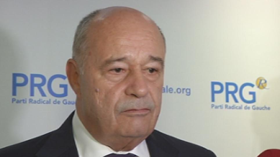 Jean-Michel Baylet, au siège de son parti le 8 octobre dernier.