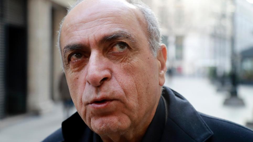 L'homme d'affaires franco-libanais Ziad Takieddine, le 7 décembre 2016 à Paris