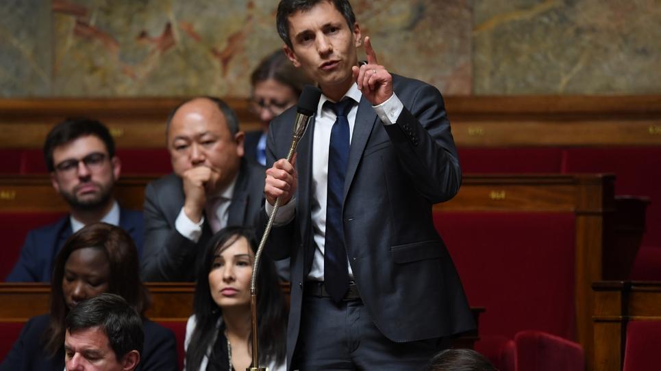 Le député LREM Bruno Studer, le 3 octobre 2017 à l'Assemblée nationale