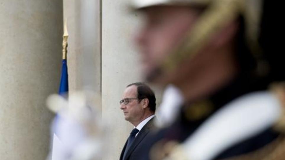 François Hollande à l'Elysée le 2 octobre 2014