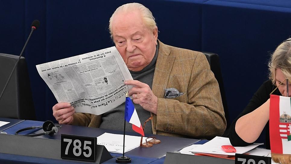 Jean-Marie Le Pen, photo du 14 mars 2018.
