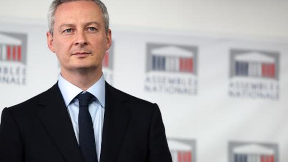 Le député UMP Bruno Le Maire, le 29 octobre 2013 à Paris