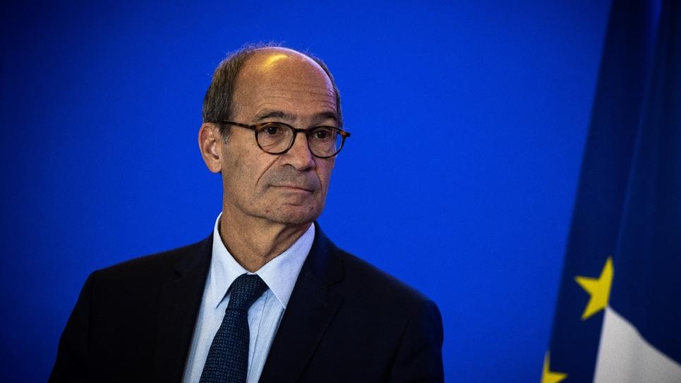 Le président de la commission des finances de l'Assemblée Eric Woerth (LR) à Paris le 9 octobre 2018