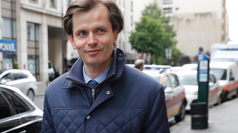 Le député LR Guillaume Larrivé, le 2 mai 2017 à Paris