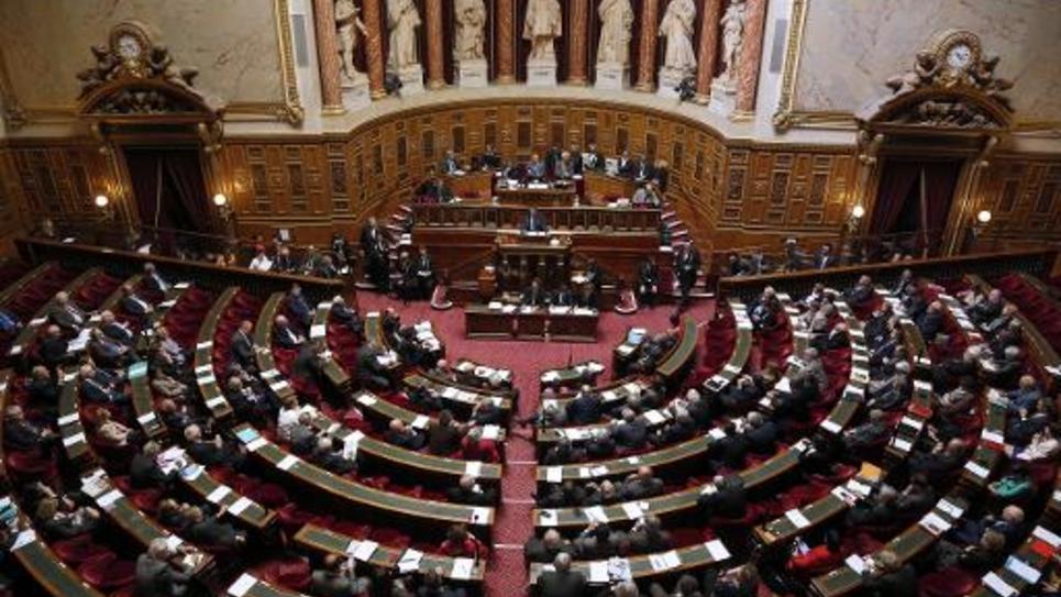 Le Sénat en séance le 9 avril 2014