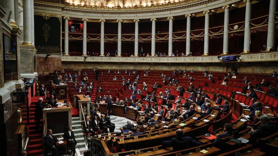L'hémicycle de l'Assemblée nationale le 5 novembre 2019