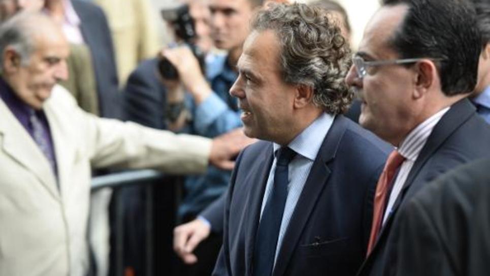 Luc Chatel, secrétaire général par intérim de l'UMP, le 10 juin 2014