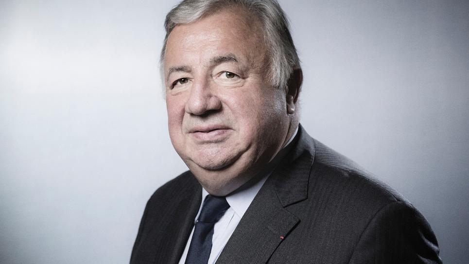 Gérard Larcher photographié le 6 juin 2018