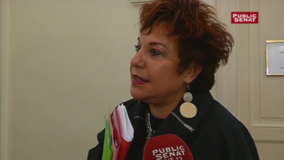 Esther Benbassa, sénatrice EELV du Val-de-Marne