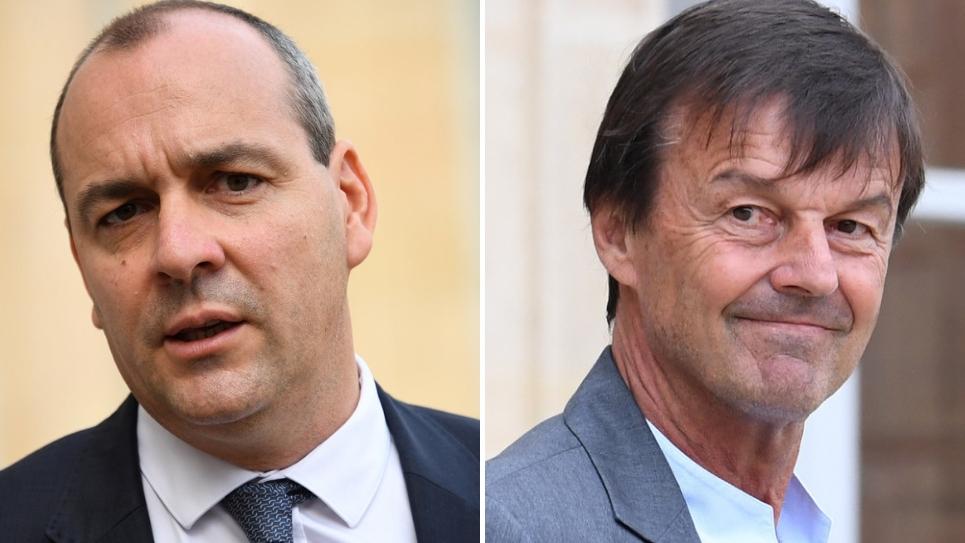 Laurent Berger (CFDT) et Nicolas Hulot