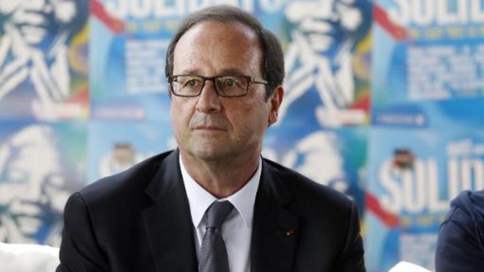 Le Président François Hollande le 29 juin 2014 à Paris