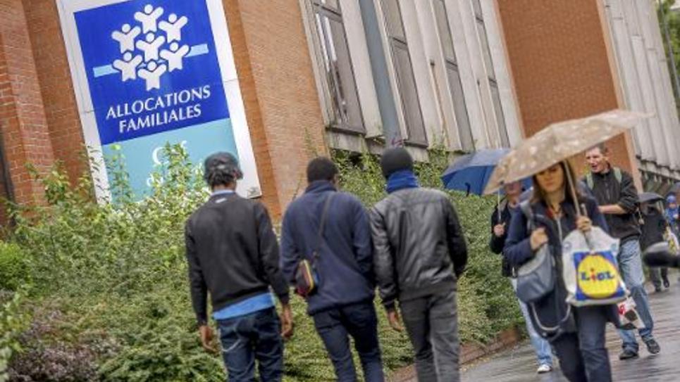 La Caisse d'allocations familiales de Lille, le 8 octobre 2014