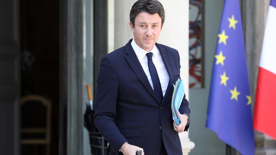 Le porte-parole du gouvernement Benjamin Griveaux le 25 juillet 2018 à Paris