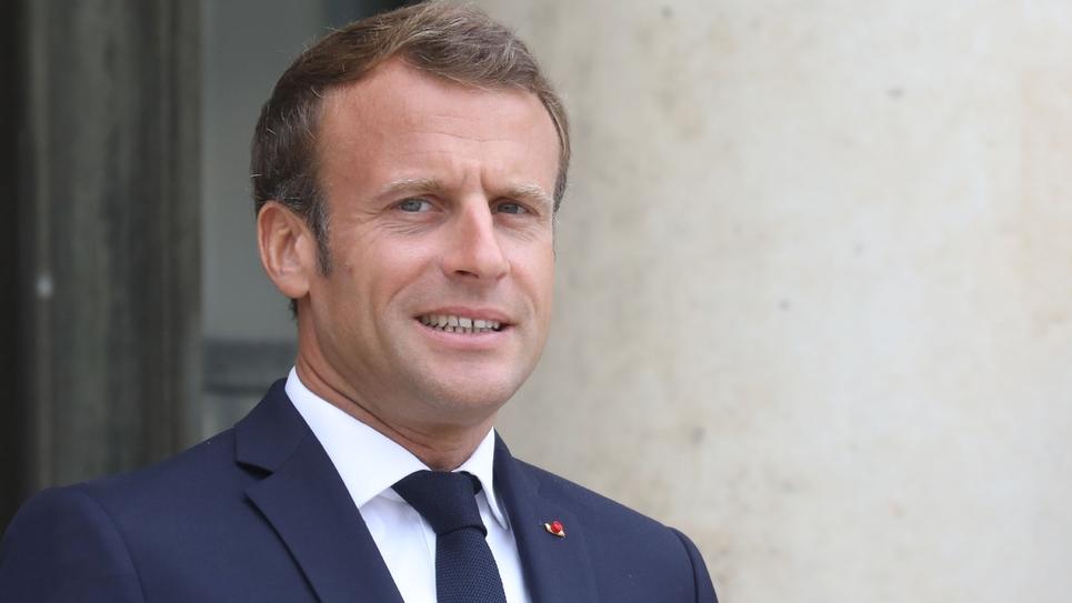 Le président Emmanuel Macron à l'Elysée à Paris, le 17 septembre 2019