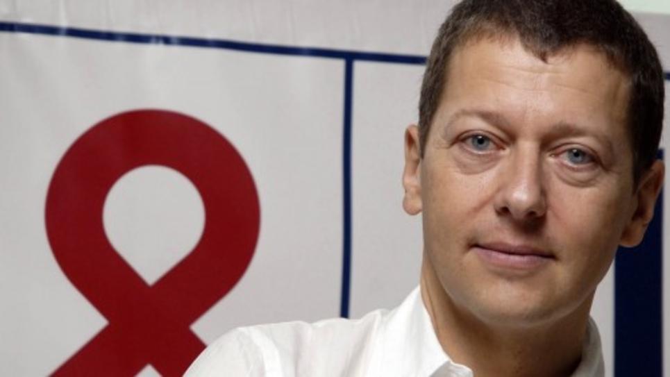 Bruno Spire, président de l'association AIDES