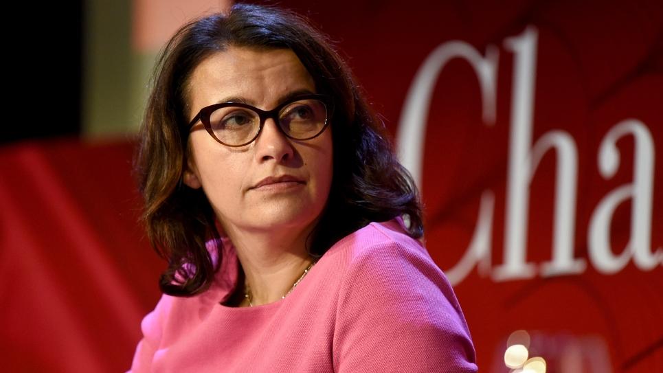 Cécile Duflot le 6 décembre 2018 lors d'une conférence à Paris
