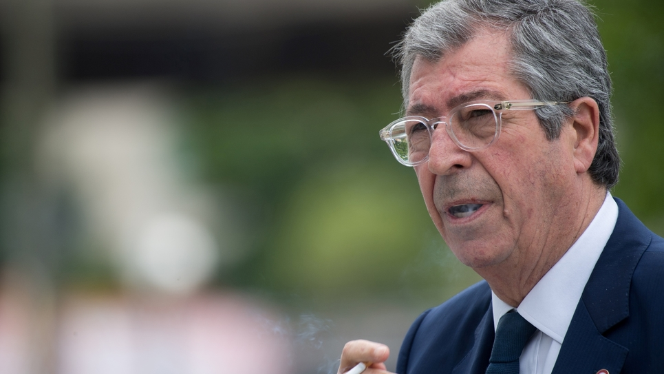 Le maire de Levallois-Perret Patrick Balkany le 20 mai 2019 lors du procès qui s'est déroulé en mai