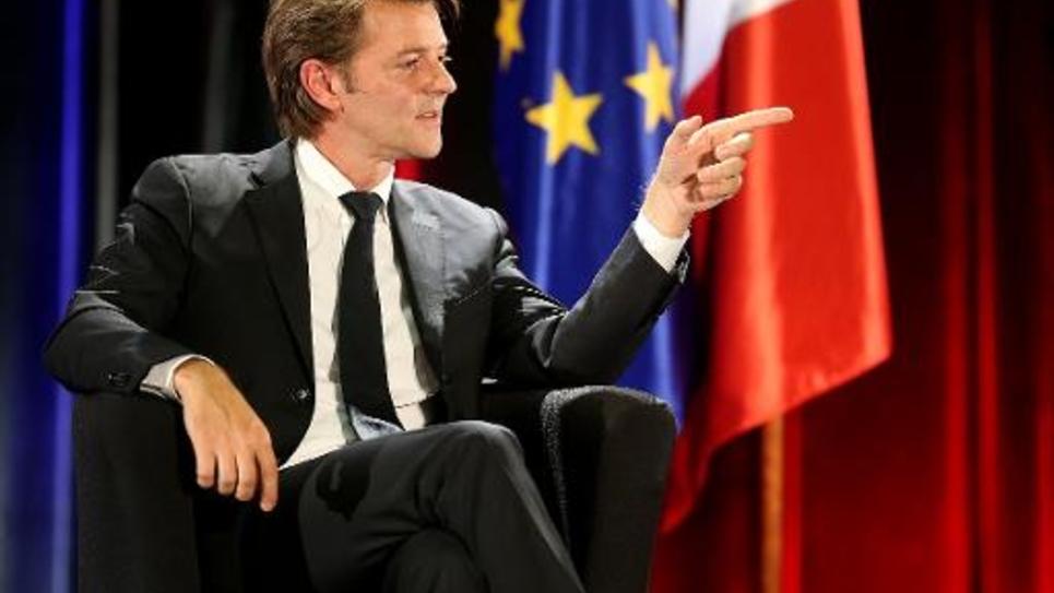 François Baroin à Saint-Julien-les-Villas le 2 octobre 2014