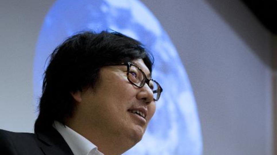 Le sénateur écologiste Jean-Vincent Placé à Paris, le 5 avril 2014