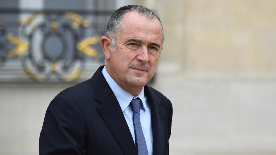 Le ministre français de l'Agriculture Didier Guillaume à Paris le 24 octobre 2018