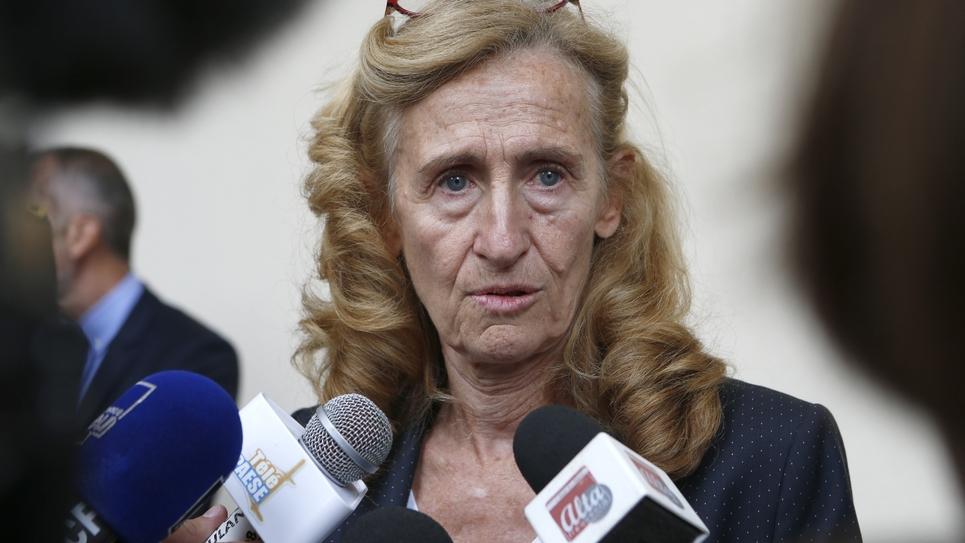 La ministre de la Justice Nicole Belloubet le 5 octobre 2018 à Bastia en Corse